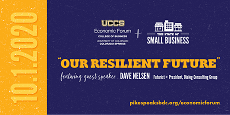 2020 UCCS Economic Forum, State of Small Business & Futurist tickets
