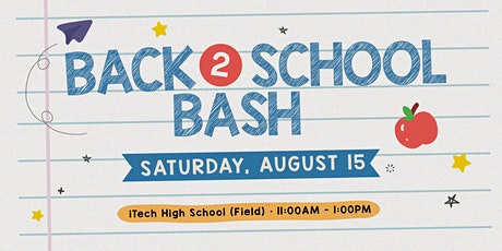 BACK TO SCHOOL BASH DRIVE-THRU tickets