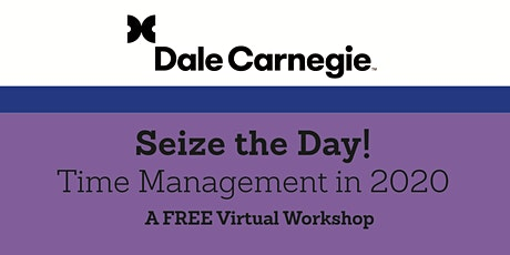 Seize the Day: Time Management in 2020 tickets