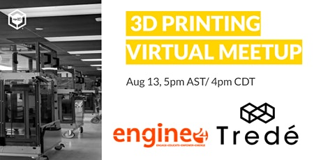3D Printing Virtual Meetup tickets