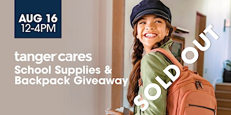 TangerCares Back to School Backpack Giveaway tickets