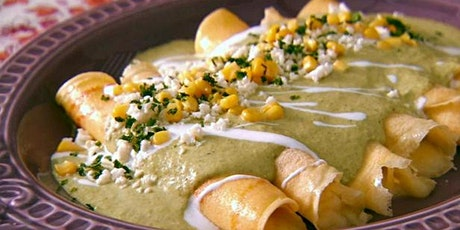 Virtual Cooking Class& Dinner Party  Mexican Inspire Crepes tickets