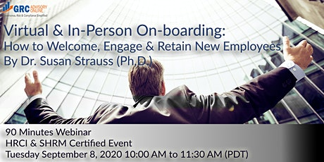 Virtual & In-person On-boarding How to Welcome, Engage & Retain New Employe tickets