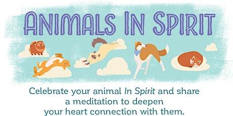 Animals In Spirit Webinar tickets
