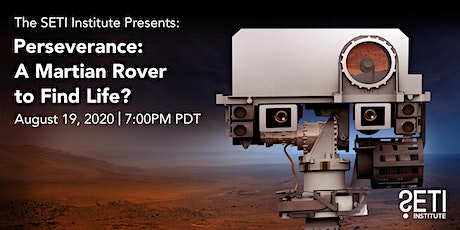 Perseverance: A Martian Rover to Find Life? tickets