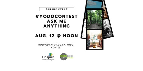 #YODOContest - 'Ask Me Anything' Online Q&A tickets