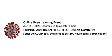 #FilAmHealthCOVID19 Series 10 - COVID & the Nervous System tickets