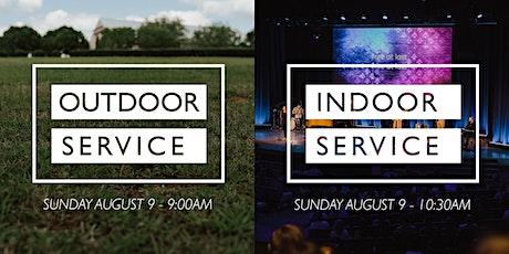 Outdoor + Indoor Services - August 16 tickets
