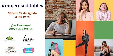Segunda edición de  Mujeres Editable Tickets