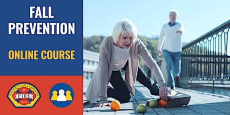 ONLINE Course: Fall Prevention  Saratoga Retirement tickets