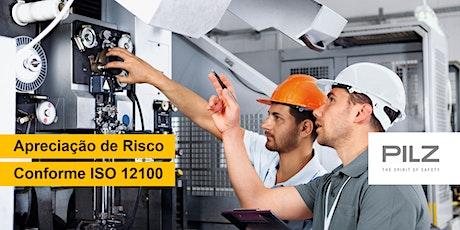 Apreciação de Risco conforme ISO 12100 entradas