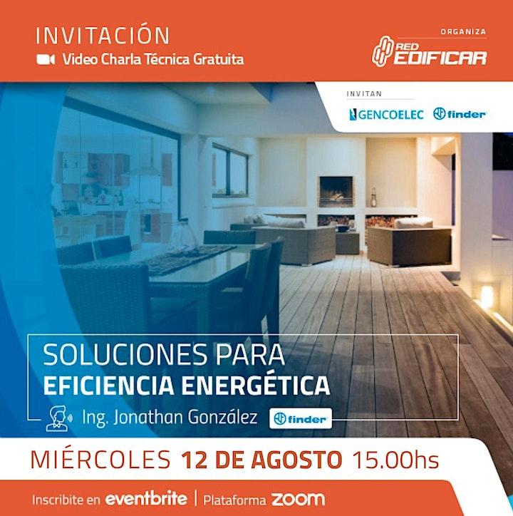 "Imagen de Video Charla Técnica ""Soluciones para Eficiencia Energética"". Red Edificar"
