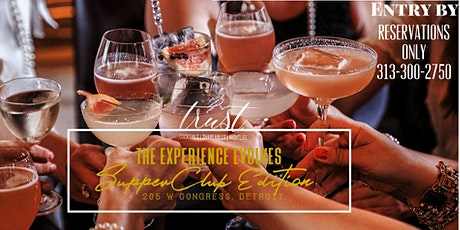 Saturday SUPPER CLUB wsg Dal Bouey at Trust - Cocktails & Shareables tickets