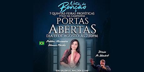 Noite da Benção - Miss Wanuzia Marcks tickets
