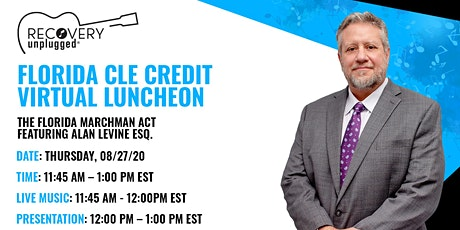 CLE Credit Virtual Luncheon - The Florida Marchman Act tickets