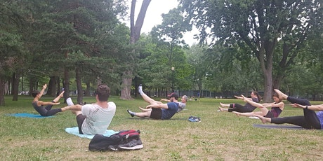 Pilates en plein air / Outdoor Pilates billets