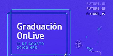 Graduación ONLive Future_is |  G5 boletos