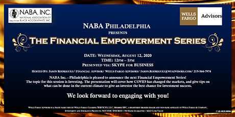 The Financial Empowerment Series: Investing tickets