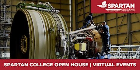 Spartan College - Los Angeles Area Campus Virtual Open House 08-21-20 tickets