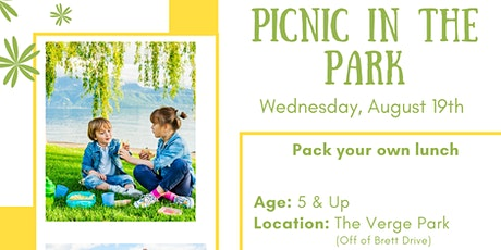 MGA Kids Event: Picnic In The Park tickets