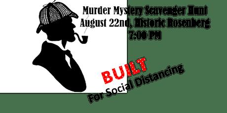 Murder Mystery Scavenger Hunt tickets