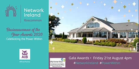 Businesswoman of the Year Gala Awards Ceremony Roscommon tickets