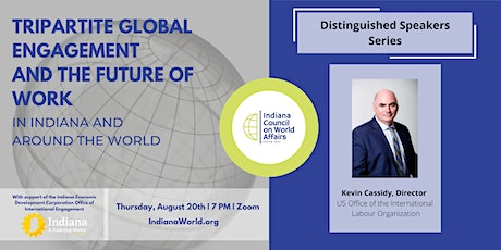 Distinguished Speakers: Tripartite Global Engagement and the Future of Work tickets