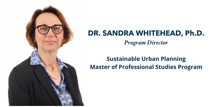 GW's Sustainable Urban Planning Program - Info Session image