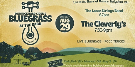 Bluegrass at the Barn: The Cleverlys feat. The Loose Strings Band tickets