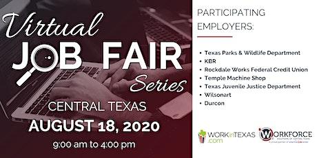 Virtual Job Fair Series - Central Texas tickets