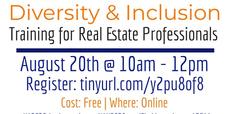 Diversity & Inclusion Training for Real Estate Professionals tickets