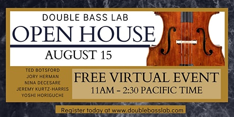 Double Bass Lab OPEN HOUSE (Free event) tickets