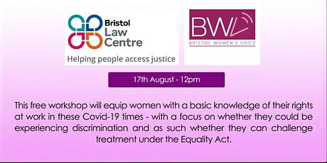 FREE Legal Rights Workshop hosted by BWV and  Bristol Law Centre tickets