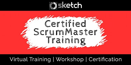 Virtual Certified ScrumMaster (CSM) - Training and Certification tickets