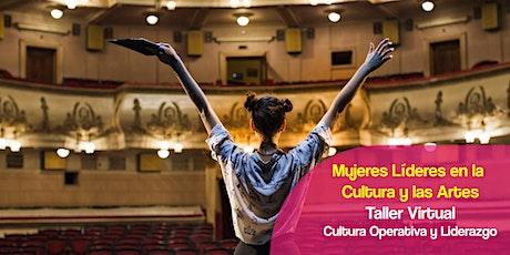 """Mujeres Líderes  Taller  Virtual """"Cultura Operativa y Liderazgo"""" entradas"""
