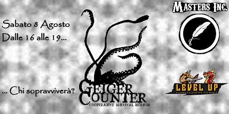 "Masters Inc. presenta ""Geiger Counter"" @ Level Up biglietti"