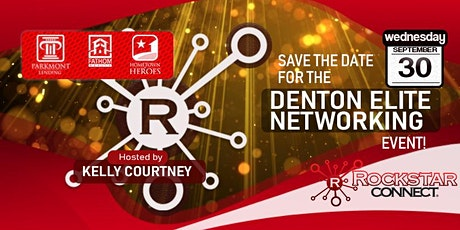 Free Denton Elite Rockstar Connect Networking Event (September, TX) tickets