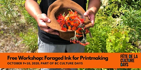 Foraged Ink for Printmaking with Edward Fu-Chen Juan tickets