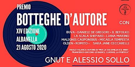 Premio BOTTEGHE D'AUTORE - XIV edizione biglietti