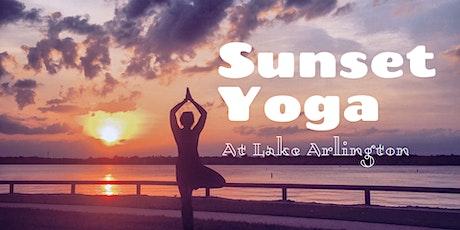Sunset Yoga at Lake Arlington tickets