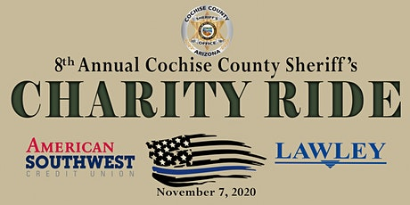 Cochise County Sheriff's Charity Ride 2020 tickets