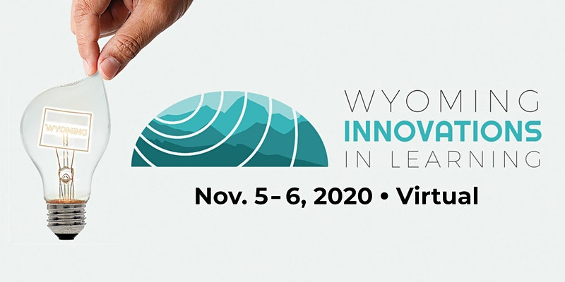 Wyoming Innovations in Learning 2020 Conference logo
