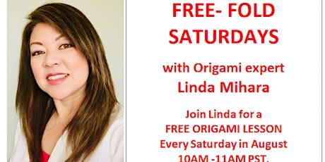 Free Fold Saturday - Flying Crane tickets