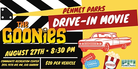 Drive-In Movie: The Goonies tickets