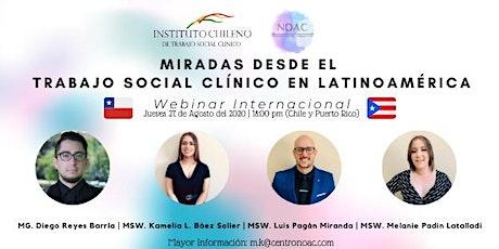 Miradas desde el Trabajo Social Clínico en Latinoamérica. entradas
