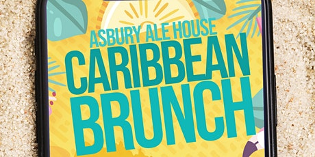 Caribbean Brunch at Asbury Ale House! Join us on 8.23.20 for a bingo brunch tickets