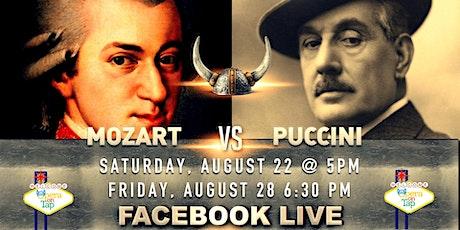 Mozart VS Puccini! tickets