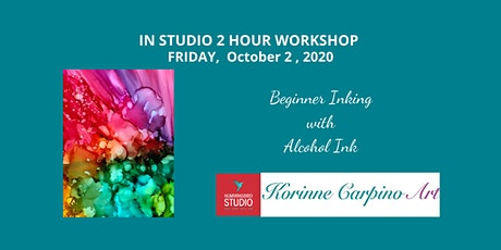 Learn to Paint with Alcohol Inks tickets