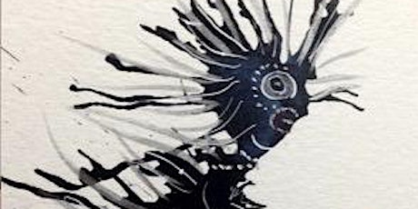 Whimsical Ink and Acrylic Creations-ONLINE-Tues, Oct 13, 9-11am tickets