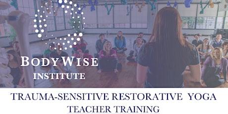 Online 25hr. Trauma-Sensitive Restorative Yoga Teacher Training tickets